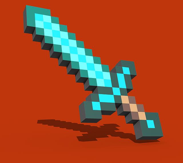 diamantový meč