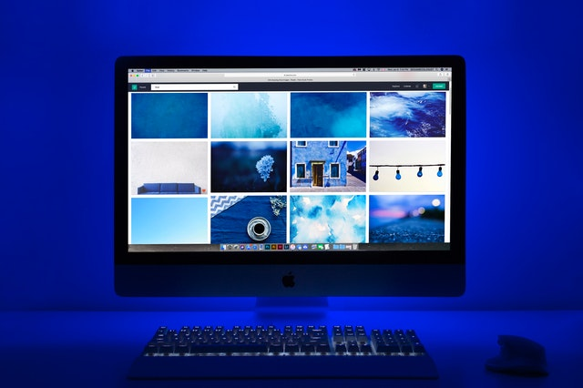 Počítačový monitor, obrázky, Apple