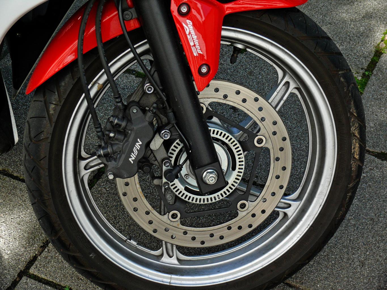 koleso, motorka